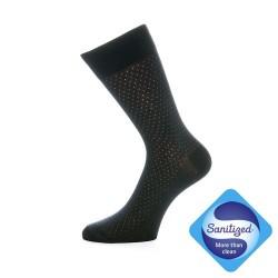 Elegantne nogavice - Excelence (črne s pikicami)