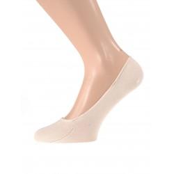 Nevidne nogavice - balerinke (bež)