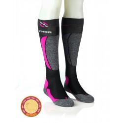 Smučarske nogavice - roza